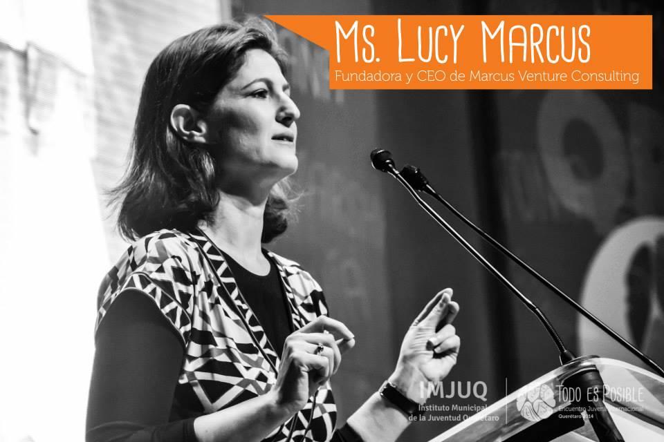 Lucy Marcus in Queretaro